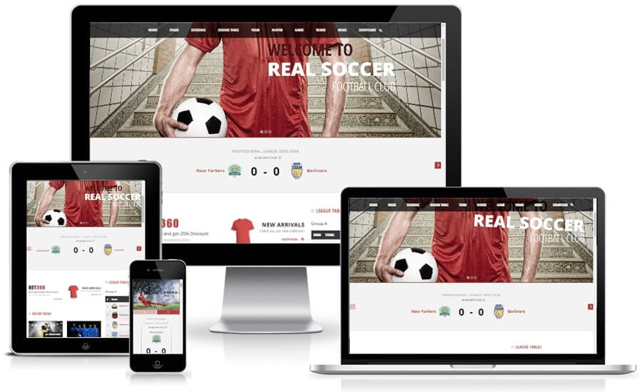 WordPress Sport Theme